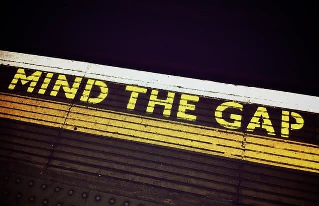 Mind the gap blog Thomas Editing